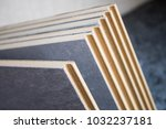 samples of laminate and parquet ... | Shutterstock . vector #1032237181