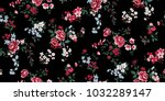 Stock vector seamless floral pattern in vector 1032289147