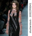 new york  ny   february 12 ...   Shutterstock . vector #1032290041