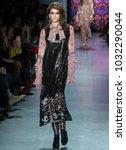 new york  ny   february 12 ... | Shutterstock . vector #1032290044