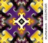 seamless background. geometric...   Shutterstock .eps vector #1032290185
