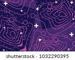 extraordinary vector abstract...   Shutterstock .eps vector #1032290395