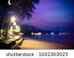 beautiful blurred bokeh at... | Shutterstock . vector #1032303025