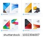 material design of business...   Shutterstock .eps vector #1032306007
