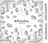 hand drawn illustration of wild ...   Shutterstock .eps vector #1032318559