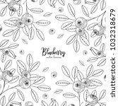 hand drawn illustrations of... | Shutterstock .eps vector #1032318679