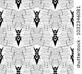 striped geometric seamless... | Shutterstock .eps vector #1032346081