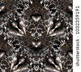 abstract modern blots seamless... | Shutterstock .eps vector #1032359191