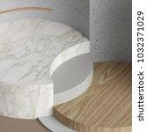 3d rendering  modern mock up ...   Shutterstock . vector #1032371029