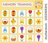 game for preschool children.... | Shutterstock .eps vector #1032404341