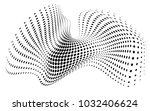 abstract art black kand white...   Shutterstock .eps vector #1032406624