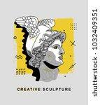 creative modern classical... | Shutterstock .eps vector #1032409351