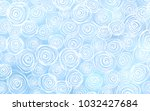 light blue vector doodle bright ... | Shutterstock .eps vector #1032427684