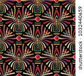 colorful kaleidoscope vector... | Shutterstock .eps vector #1032440659
