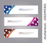 web banner design template.... | Shutterstock .eps vector #1032495301