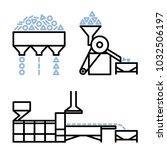 vector editable stroke line... | Shutterstock .eps vector #1032506197