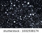 snow falling in the night | Shutterstock . vector #1032538174