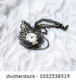 a cute pendant necklace... | Shutterstock . vector #1032538519