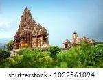 kandariya mahadeva temple ... | Shutterstock . vector #1032561094