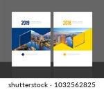 corporate cover design for...   Shutterstock .eps vector #1032562825