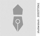 pen vector icon eps 10.... | Shutterstock .eps vector #1032573361