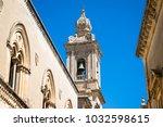 Belfry Of A Gothic Church In...
