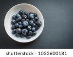 natural looking blueberries in...   Shutterstock . vector #1032600181
