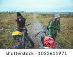 asian lover women and men...   Shutterstock . vector #1032611971