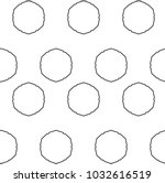 seamless vector pattern in... | Shutterstock .eps vector #1032616519