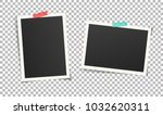 set of vintage photo frames... | Shutterstock .eps vector #1032620311