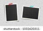 set of vintage photo frames... | Shutterstock .eps vector #1032620311
