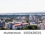 background of top view city... | Shutterstock . vector #1032628231