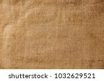 burlap sacking sackcloth... | Shutterstock . vector #1032629521
