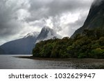 milford sound  south island ... | Shutterstock . vector #1032629947