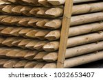 Wooden Fence Posts  Round Wood...