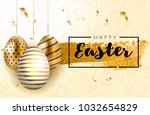 happy easter lettering...