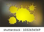 geometric background with metal ...   Shutterstock .eps vector #1032656569