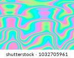 close up of iridescent... | Shutterstock . vector #1032705961