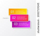 vector color modern progress... | Shutterstock .eps vector #1032719245
