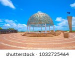 the dome of soul of the hmas... | Shutterstock . vector #1032725464