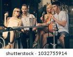 celebration  party concept.... | Shutterstock . vector #1032755914