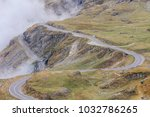 transfagarasan mountain road in ... | Shutterstock . vector #1032786265