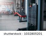 exersice machine closeup  sport ...   Shutterstock . vector #1032805201