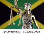 symbol of law and justice with... | Shutterstock . vector #1032816925