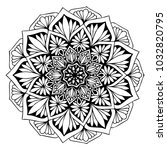 mandalas for coloring book.... | Shutterstock .eps vector #1032820795