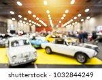 defocus image of vintage cars...   Shutterstock . vector #1032844249