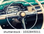 closeup on a wheel of a vintage ...   Shutterstock . vector #1032845011
