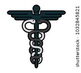 medical caduceus symbol | Shutterstock .eps vector #1032845821