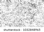 an abstract halftone texture.... | Shutterstock .eps vector #1032848965