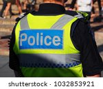 international police security... | Shutterstock . vector #1032853921